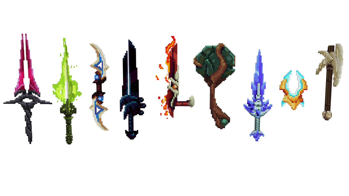 minecraft 3d weapons resource pack