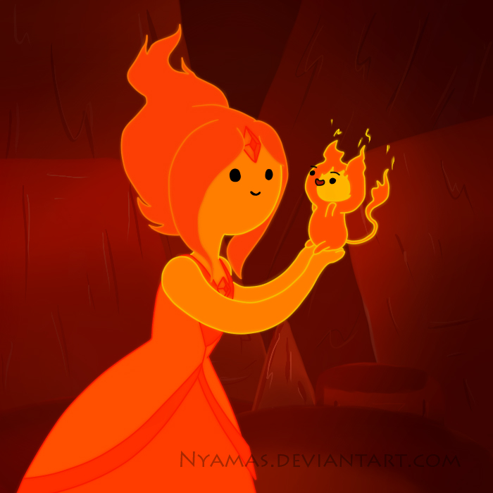 Flame Princess and Flambo by Nyamas
