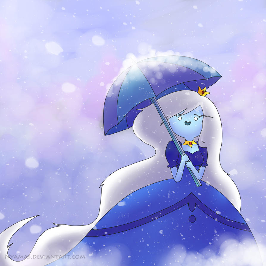 Ice Queen (speed drawing) by Nyamas