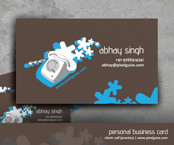 Visiting Card - Practice