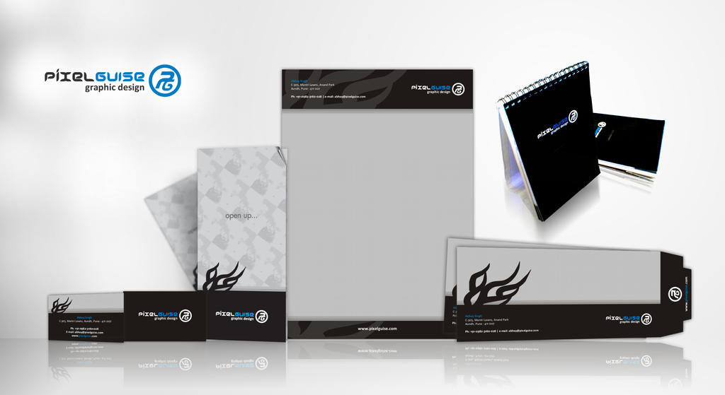 Letterhead Design Logo With Stationery Design Project Stationery ...
