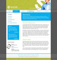Samiweb Website Layout by AbhaySingh1