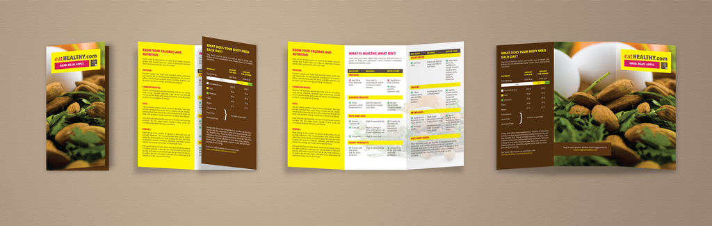 Eat Healthy - Brochure