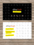 Abhay Singh Card Concept 1
