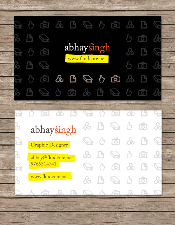 Abhay Singh Card Concept 1 by AbhaySingh1