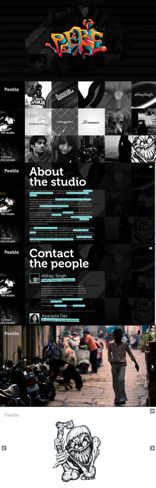 Peeble Website Design by AbhaySingh1