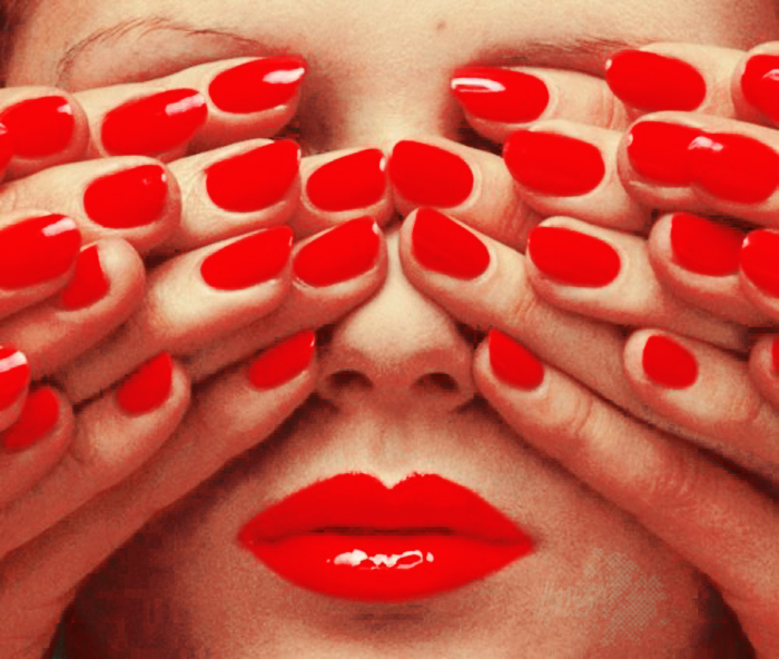 Red lips, red nails by Heypistol on DeviantArt