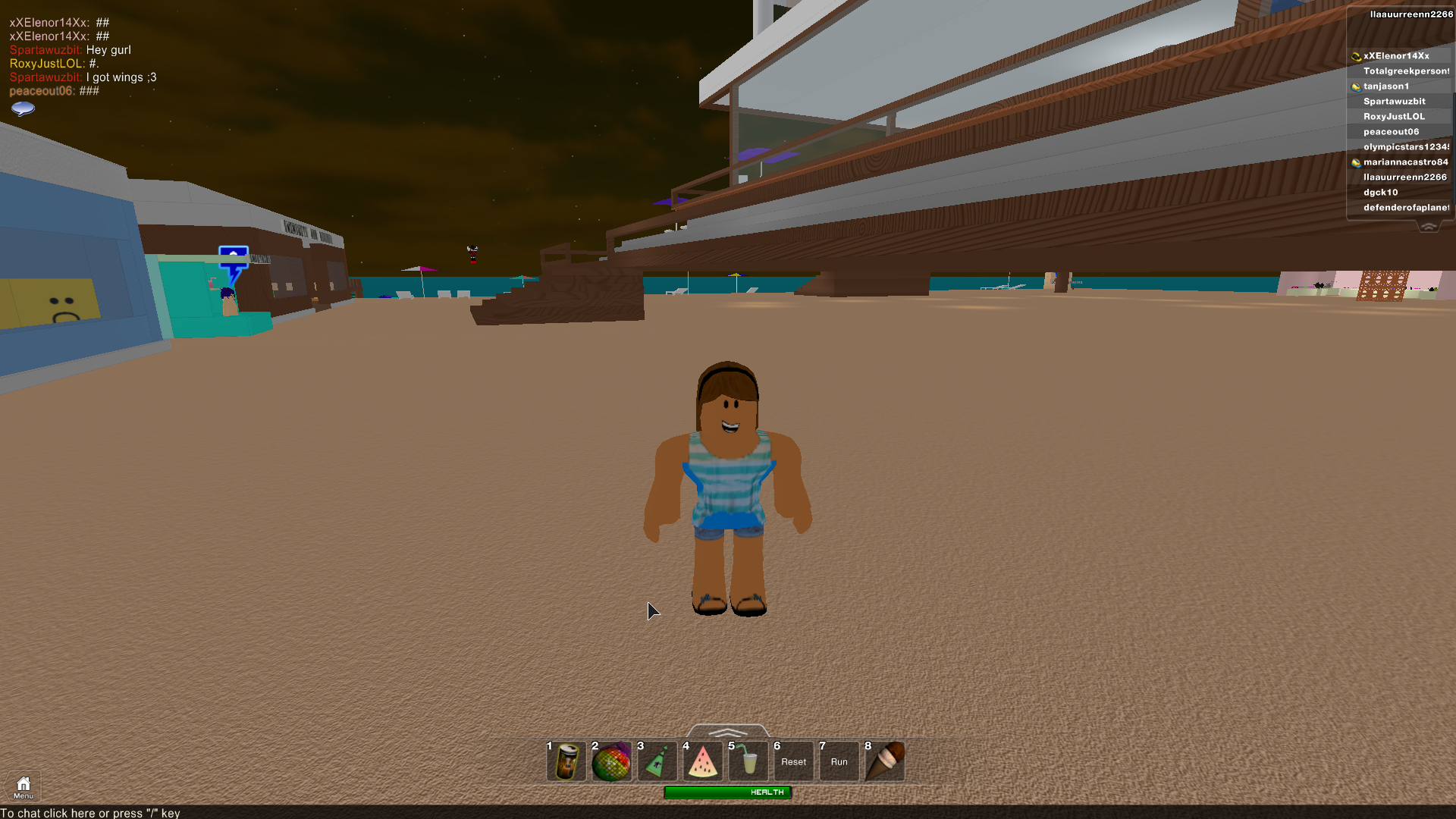 how to change a character in game on roblox