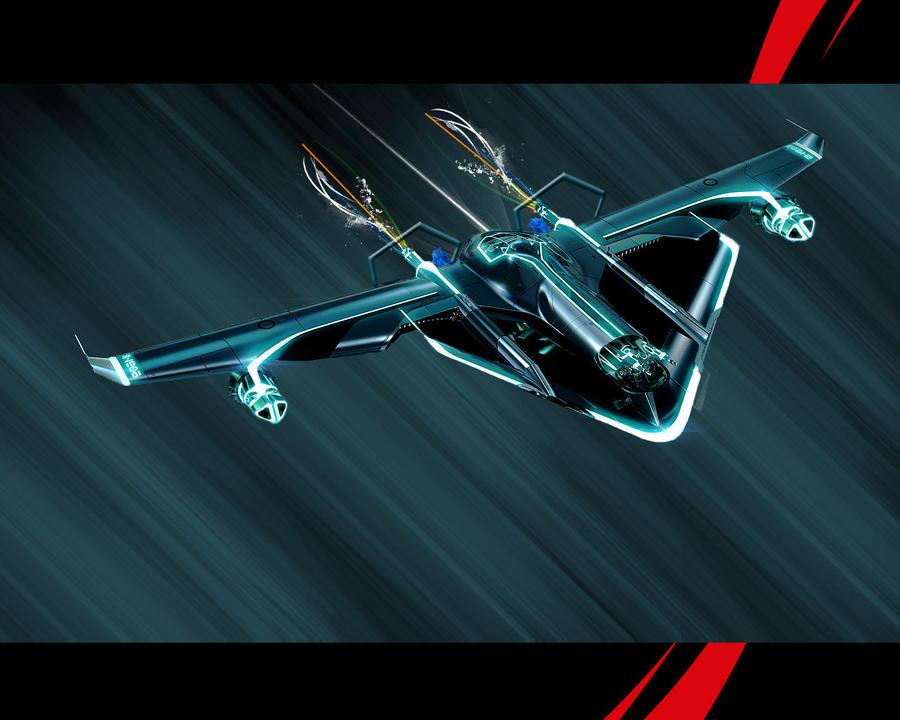 Tron Jet - 1280x1024 by Lilpuma on DeviantArt
