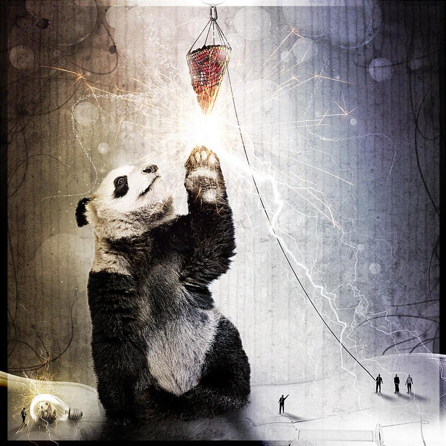 electrical pandas by humbadah