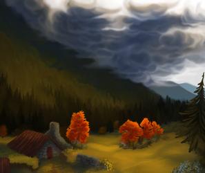 Valley Of Toho by aysdeer