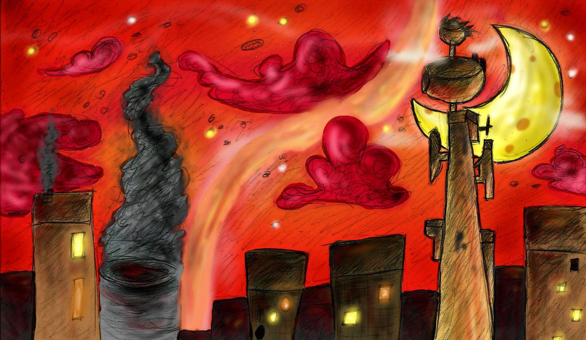 Night city by Kruczkowska