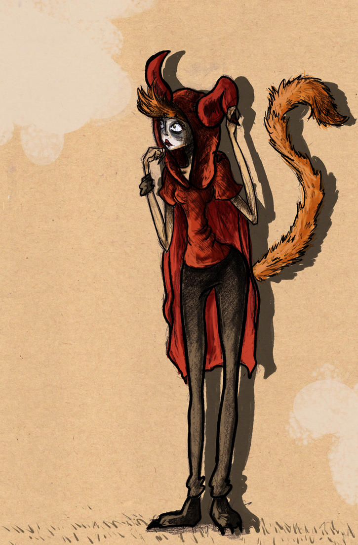 Fox Girl by Kruczkowska