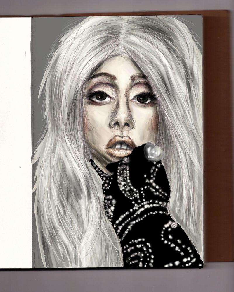 Lady Gaga by Kruczkowska