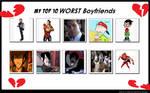 Top 10 Worst Boyfriend