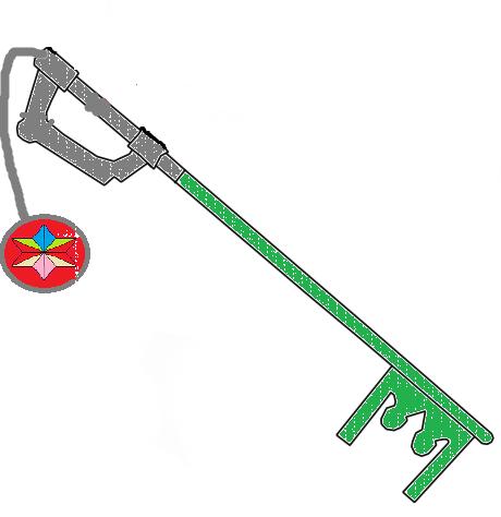 Jeremy's Keyblade by Dragonprince18