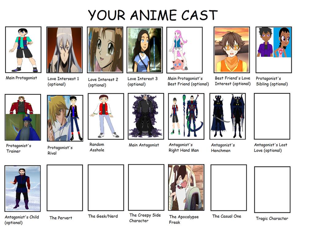 anime Cast- Last Children by Dragonprince18