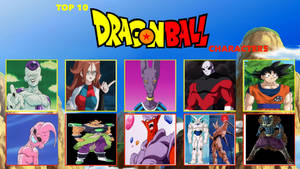 My Top 10 Dragonball characters