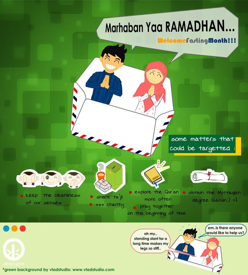 marhaban ya ramadhan lucu