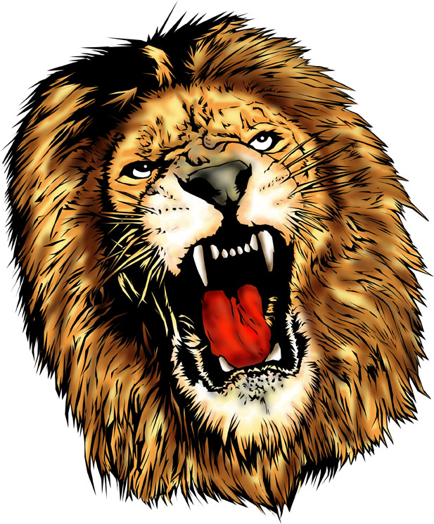 Lion head - photo#25