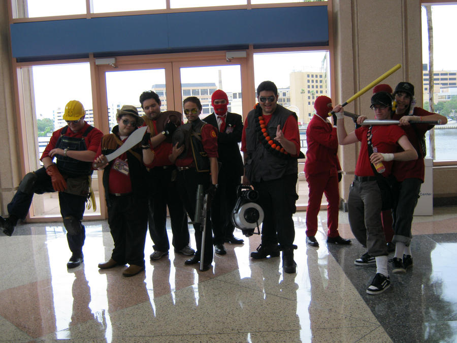 RED Team - Metrocon 2010 by DislocatedPenguin