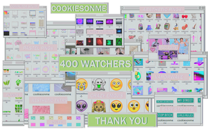 +/MEGAPACK 400 WATCHERS |GRACIASSS