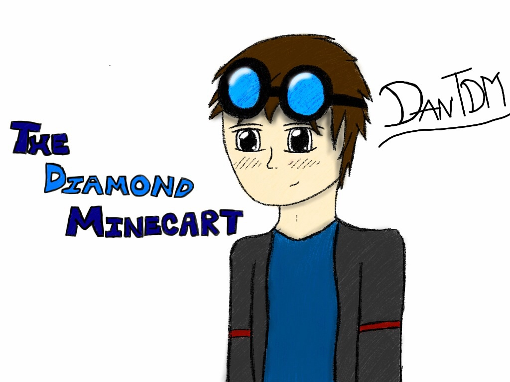 Billebobart 2 0 Dantdm Or The Diamond Minecart By Fangirl116