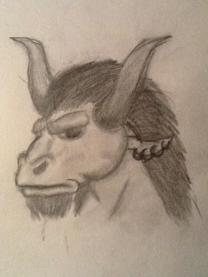 Minotaur Head by FanGirl116 on DeviantArt