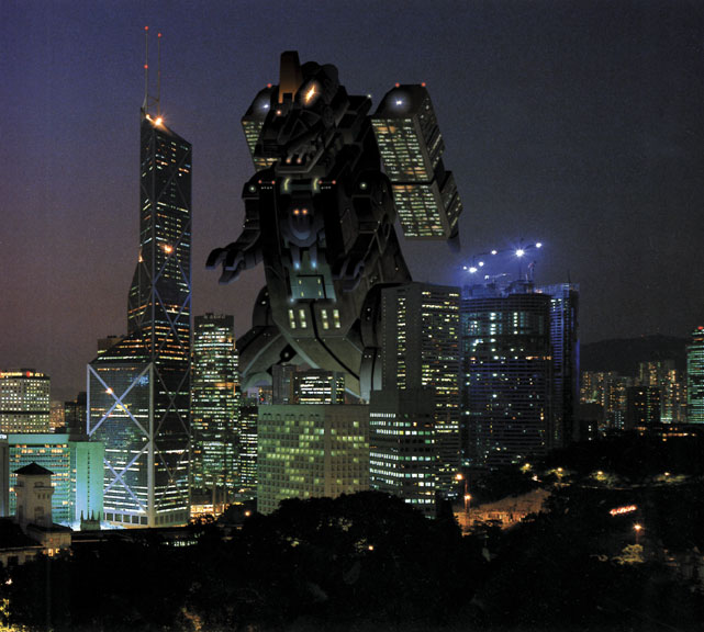Trypticon Snapshot by cwmodels