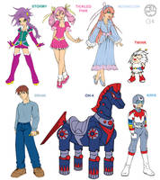Rainbow Brite's Friends by cwmodels