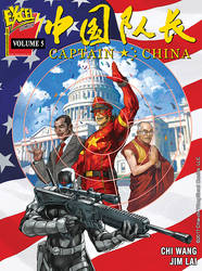 Captain China Volume 5 cover