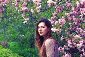 whispering flowers by Laplum