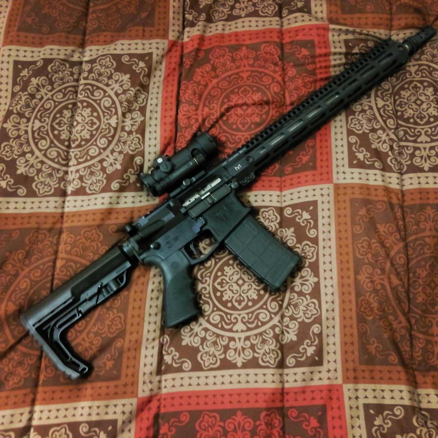 Finally Built the Gun by kiabe1