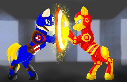 Captain Equestria: Civil War