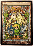 Forest, Link and Zelda (Wind Waker)