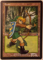Forest, Link Archer (Zelda Wind Waker Fan Art) by Toriy-Alters
