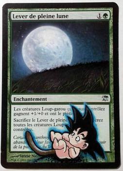 Full Moon's Rise, Son Goku (Dragon Ball Fan Art)
