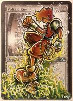 Voltaic Key, Kingdom Hearts fan art by Toriy-Alters