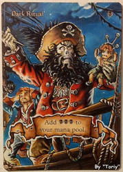 Dark ritual, feat 'LeChuck' from Monkey Island by Toriy-Alters