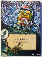 Dark Ritual, Robot Spongebob by Toriy-Alters