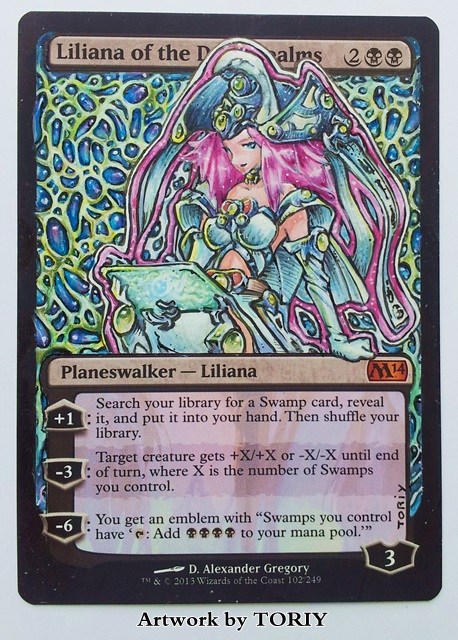 High Priestess Liliana by Toriy-Alters