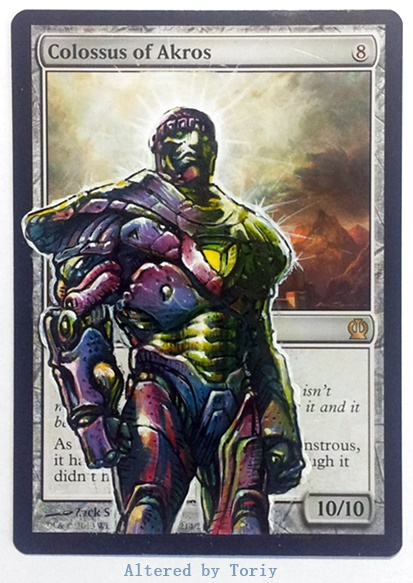 Marvel Sentinel Colossus by Toriy-Alters