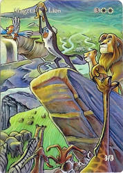 Mageta the Lion King by Toriy-Alters