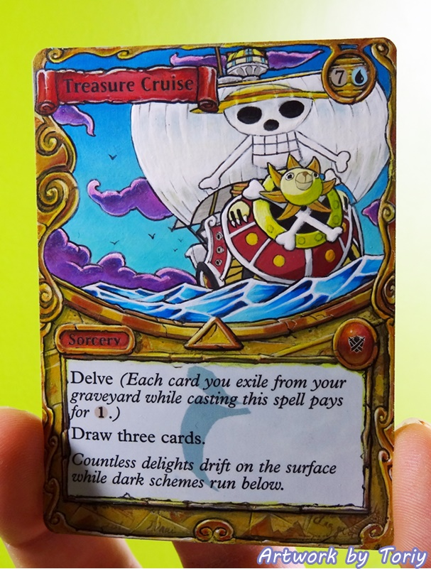 ONE PIECE TREASURE CRUISE fan art by Toriy-Alters