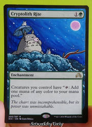 Totoro Cryptolith Rite by Toriy-Alters