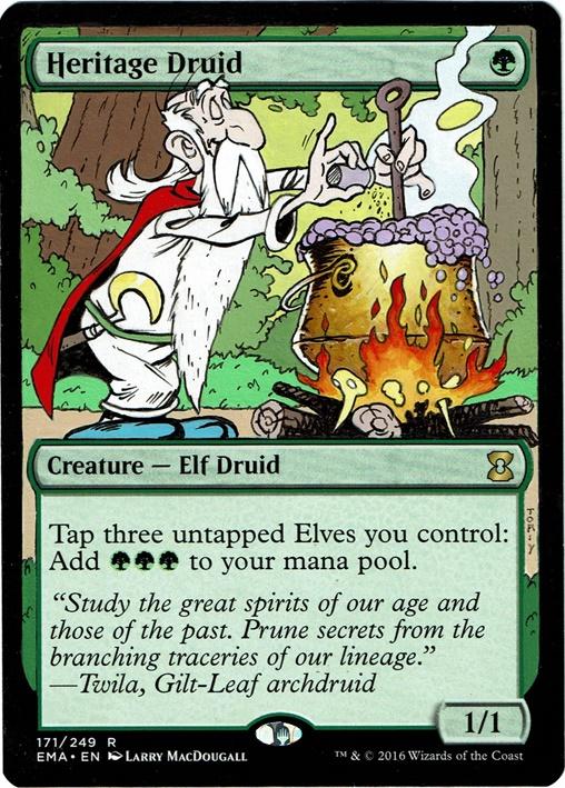 The Druid Getafix by Toriy-Alters