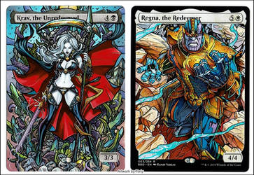 Lady Death and Thanos Duo Commander