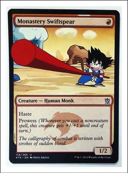 Goku's Swiftspear