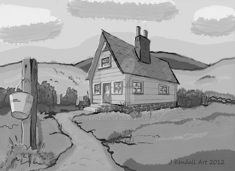 Old Country House by J-KENDALL