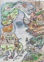 Fantasy Map by J-KENDALL